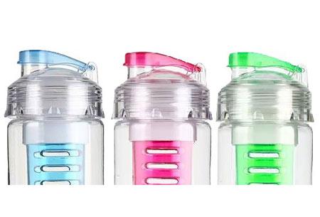 Waterfles met fruit filter 3-pack | Handig voor onderweg en maakt water een stuk lekkerder