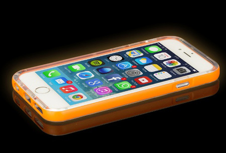 Hoesje Met Licht : Iphone light up case