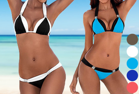 Duocolor bikini