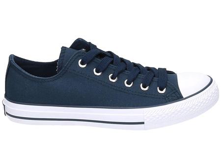 Classic sneakers voor hem en haar | Hoog of laag model - voor de maten 36 t/m 46 Blauw - Laag