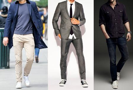 Classic sneakers voor hem en haar | Hoog of laag model - voor de maten 36 t/m 46