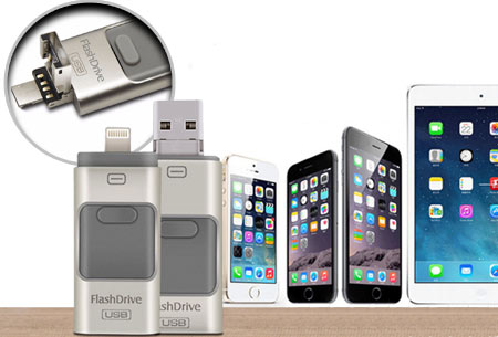 3 in 1 Flash Drive nu in de uitverkoop!