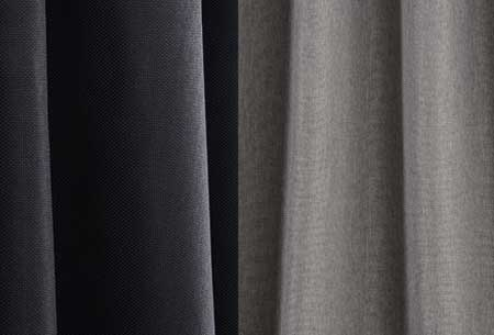 Geweven verduisterende gordijnen | Kant en Klaar, verkrijgbaar in verschillende maten en kleuren