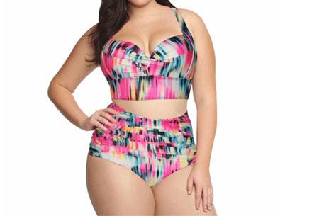 Beachwave plus size bikini | Musthave item voor in de zon Tropical