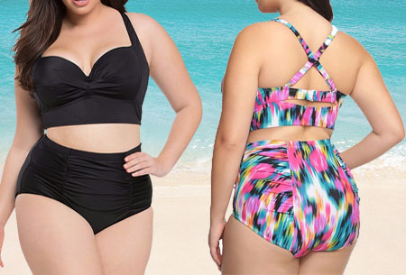 Beachwave plus size bikini