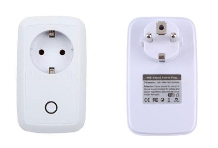 Smart WiFi stopcontact   Zet je lichten of apparaten aan en uit, ook als je niet thuis bent .