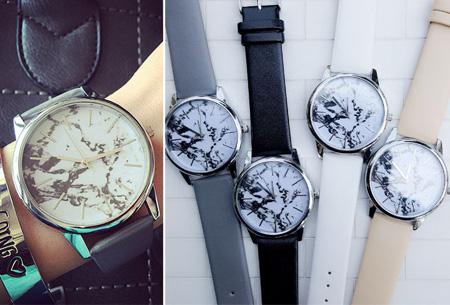 Marble horloge