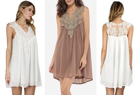 Lace jurk met prachtige kanten details | Ga voor een stijlvolle bohemian look!