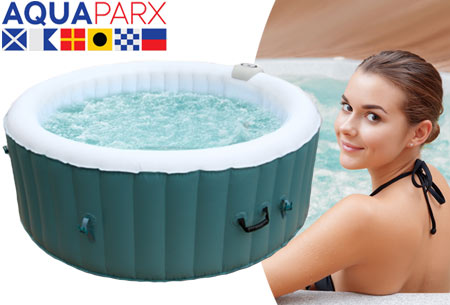 AquaParx zelfopblaasbare jacuzzi