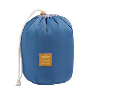 Cosmetica reistas | Handige organizer met vakjes voor al je spullen Donkerblauw