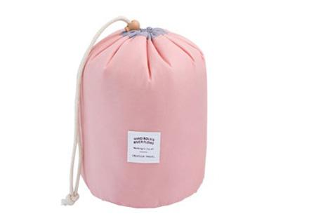 Cosmetica reistas | Handige organizer met vakjes voor al je spullen Roze