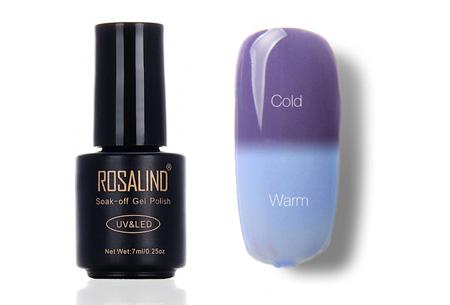 Colorchanging nagellak met UV LED lamp | De temperatuur bepaalt de kleur van jouw nagels #T14