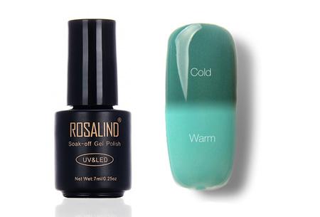 Color changing nagellak met UV LED lamp | De temperatuur bepaalt de kleur van jouw nagels #T20
