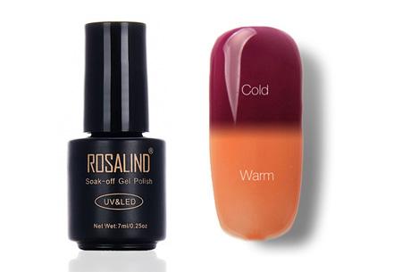 Color changing nagellak met UV LED lamp | De temperatuur bepaalt de kleur van jouw nagels #T21