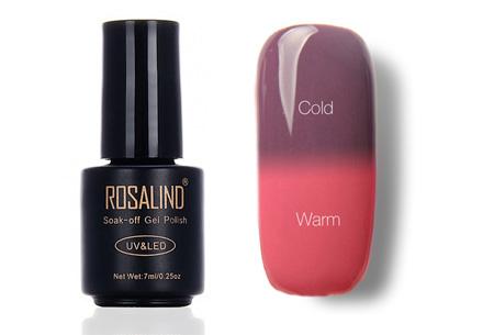 Color changing nagellak met UV LED lamp | De temperatuur bepaalt de kleur van jouw nagels #T23