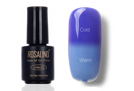 Color changing nagellak met UV LED lamp | De temperatuur bepaalt de kleur van jouw nagels #T28
