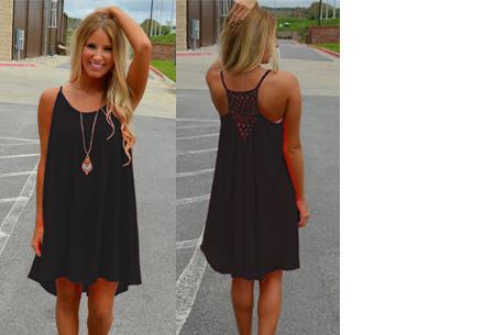 Colorful jurk | Steel de show met deze kleurrijke zomermusthave! zwart