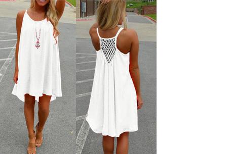 Colorful jurk | Steel de show met deze kleurrijke zomermusthave! wit