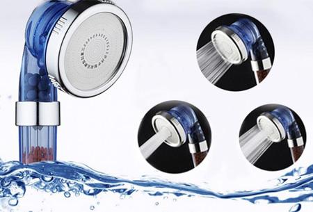 Waterbesparende eco douchekop | Bespaart en zuivert water voor een echt wellness-gevoel