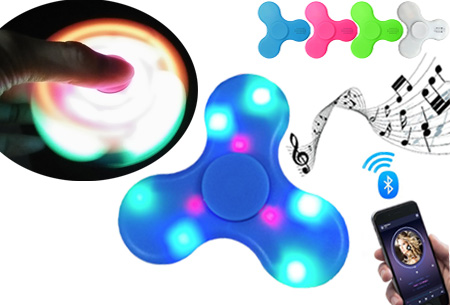 Bluetooth LED Fidget spinner