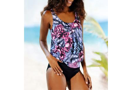 Pattern bikini | Voor de perfecte beachlook #D