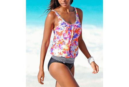 Pattern bikini | Voor de perfecte beachlook #A