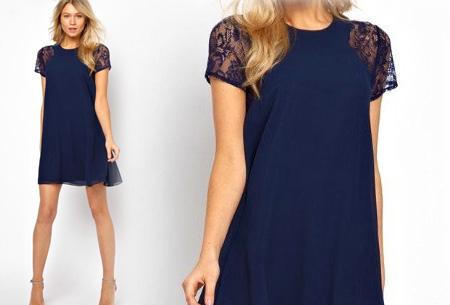 Summer Chic jurk | Prachtige & stijlvolle jurk Donkerblauw
