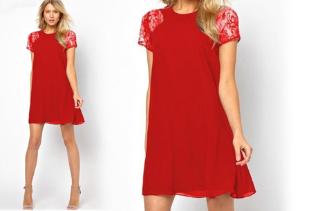 Summer Chic jurk | Prachtige & stijlvolle jurk Rood