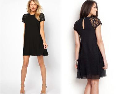 Summer Chic jurk | Prachtige & stijlvolle jurk Zwart