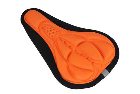 Gel zadelhoes | Maakt fietsen een stuk comfortabeler!  Oranje