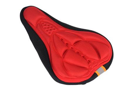 Gel zadelhoes | Maakt fietsen een stuk comfortabeler!  Rood