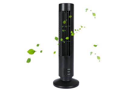 Compacte torenventilator | Heerlijk verkoelend tijdens de zomer zwart