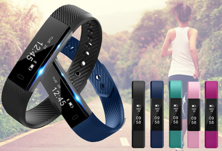 Sporty activity tracker