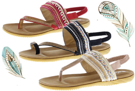 Boho Chic slippers