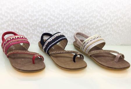 Boho Chic slippers | Trendy slippers voor een echte Ibiza look Model #2