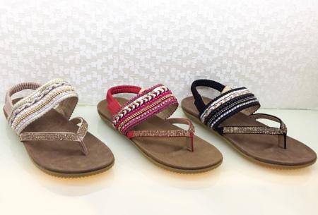 Boho Chic slippers | Trendy slippers voor een echte Ibiza look Model #3
