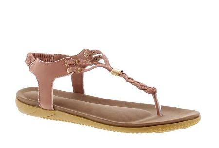 Braided slippers | Eyecatcher voor een complete zomerse look Oudroze