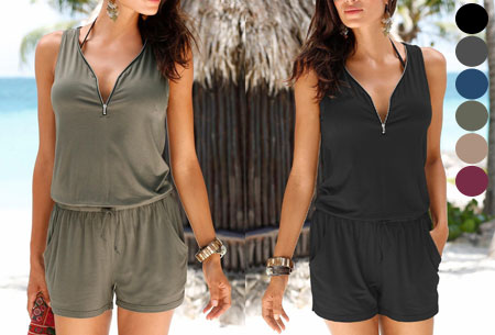 Jogging playsuit | Comfortabele zomerse onepiece