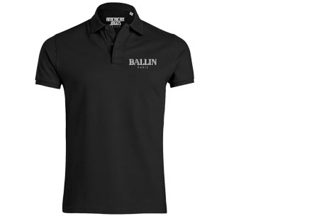 BALLIN Paris herenpolo's | Origineel, hip en van topkwaliteit! zwart