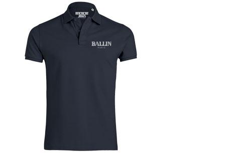 BALLIN Paris herenpolo's | Origineel, hip en van topkwaliteit! navy