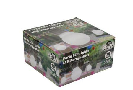 Party LED lights | Zorgt voor extra sfeer en gezelligheid 10 LED partylight