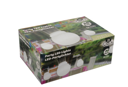Party LED lights | Zorgt voor extra sfeer en gezelligheid 20 LED partylight