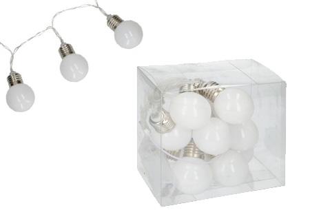 Party LED lights | Zorgt voor extra sfeer en gezelligheid Wit decolight