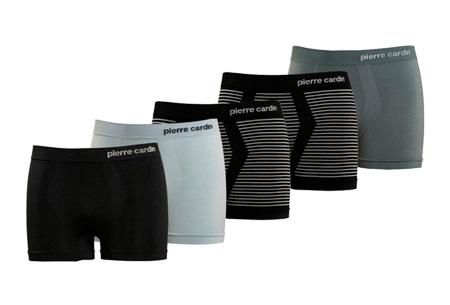 Pierre Cardin herenboxers 5-pack  | De basic voor elke man Zwart