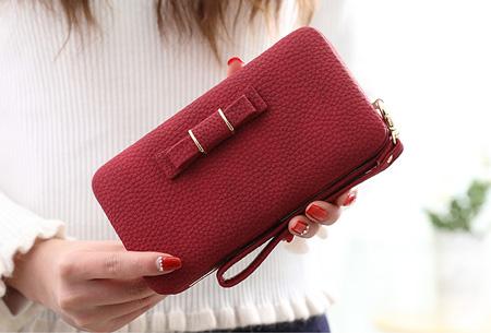 Clutch phone wallet | Multifunctioneel en verkrijgbaar in 8 kleuren Rood