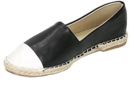 Espadrilles in leather, suède of snake look & diverse kleuren | Shop ze nu voor een bodemprijs! zwart leather look