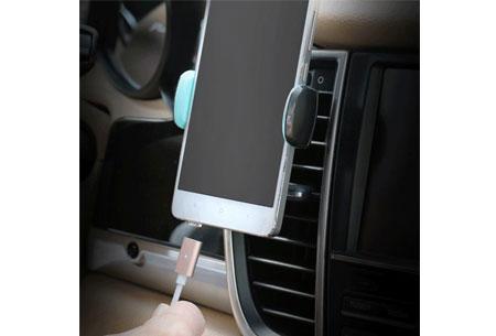 Magnetische oplaadkabel 2.0 | Geschikt voor iPhone 5 of hoger & Micro USB + type C