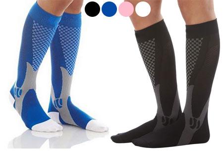 Compressie sportsokken | Helpt bij diverse beenklachten & zorgt voor een betere prestatie