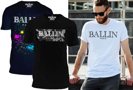 BALLIN Paris heren t-shirt