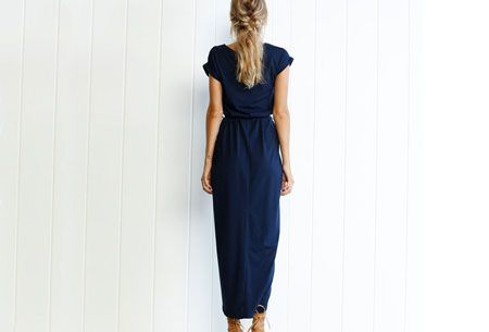 Gorgeous maxi jurk | Basic met sexy touch
